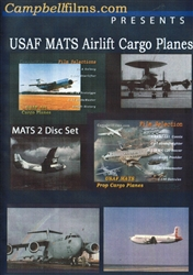 USAF MATS Airlift Cargo Planes Two  DVD Set