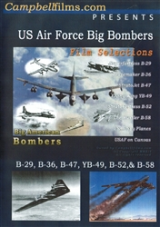 US Air Force Big Bombers B-29 B-36 B-47 B-52 B-58 DVD