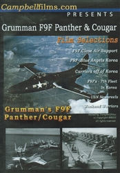 Grumman F9F Panther and Cougar DVD