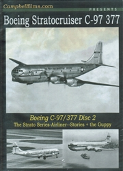 Boeing Stratocruiser C-97 Transport 377 Airliner Disc 2 DVD