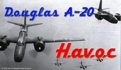 How to Fly the A-20 Havoc A-26 Invader WWII Attack Bomber + Pilots Manual DVD