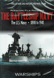Battleship Navy Historic U.S. Navy Films 1898-1941 DVD