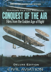 Conquest of the Air -  Films from Golden Age of Flight 1903-1939 DVD