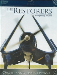 The Restorers - Aircraft Restoration 10th Anniv Edition Blu-ray disc
