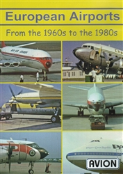 European Airports - 1960s to the 1980s DC3 707 727 DC7 DC8 DC9 DVD
