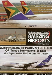 Johannesburg Airports Spectacular A380 747SP DVD