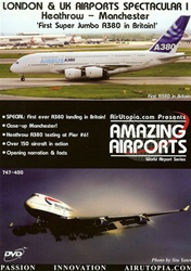 London and UK Airports Spectacular I A-380 Landing DVD