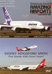 Australia Sydney Kingsford Smith Airport A380 DVD