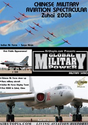 Chinese Military Aviation Airshow Zuhai 2008 DVD