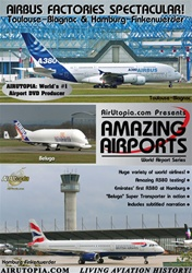 Toulouse Hamburg Airports Airbus Factories DVD