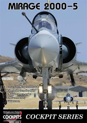 Mirage 2000-5 Fighter Jet Cockpit DVD