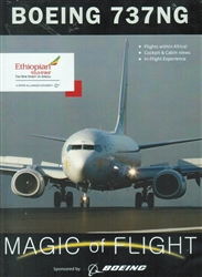 Boeing 737-800 NG Next Generation Ethiopian Airlines DVD