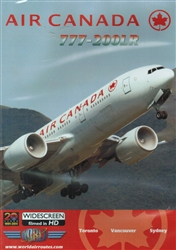 Air Canada 777-200LR Canada to Australia DVD